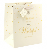 Mad Dots Medium Christmas Gift Bag